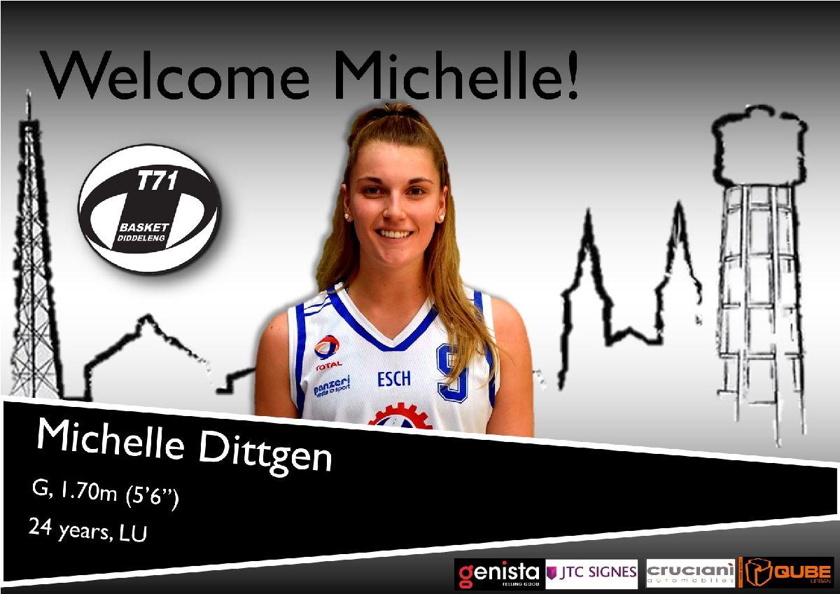Michelle Dittgen joins T71