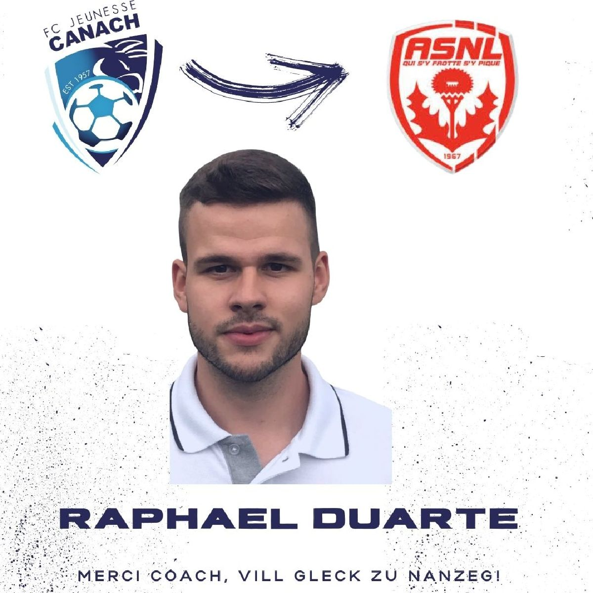 Raphael Duarte quitte Canach