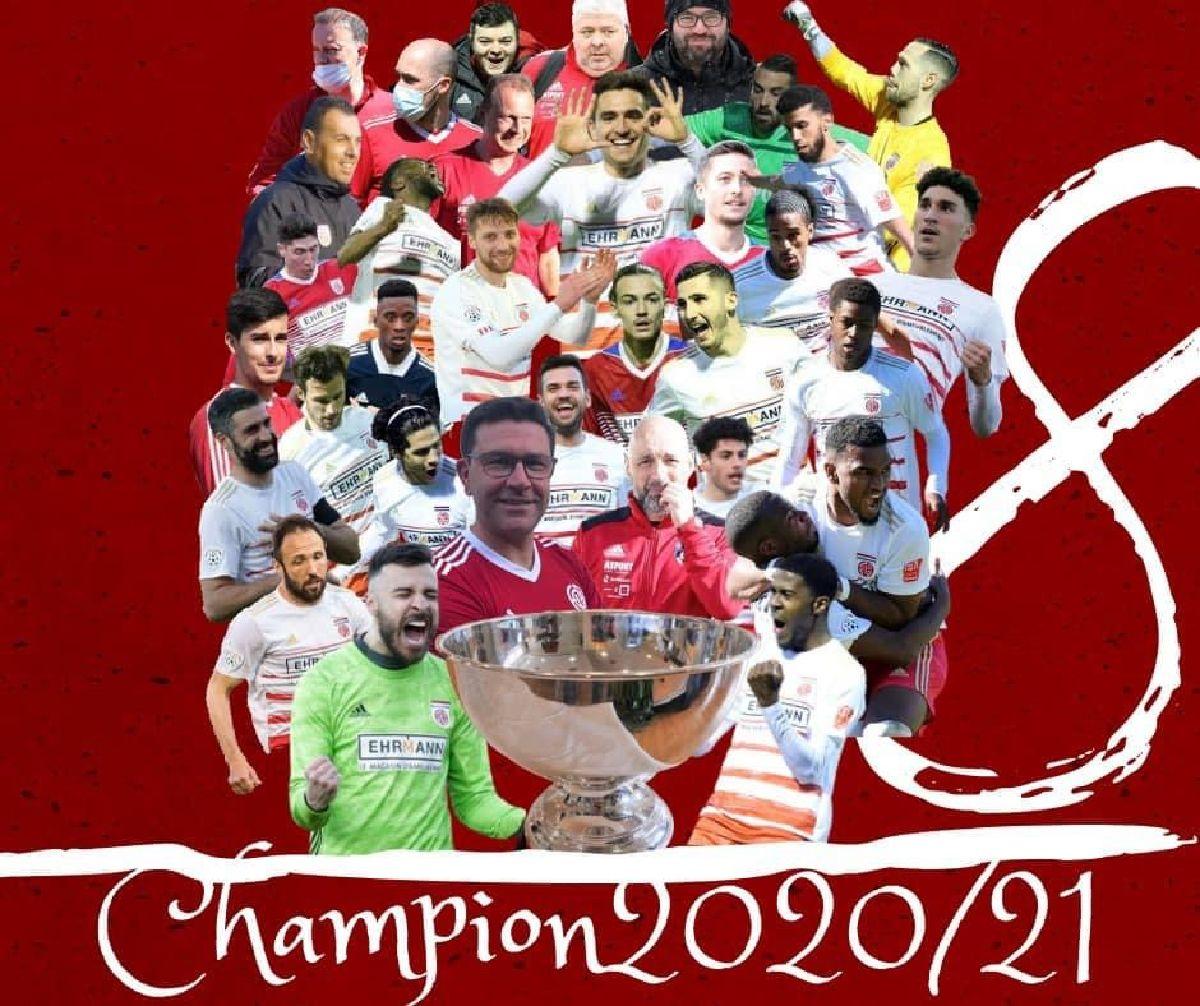 CS Fola Esch - Champion du Luxembourg 2020/2021