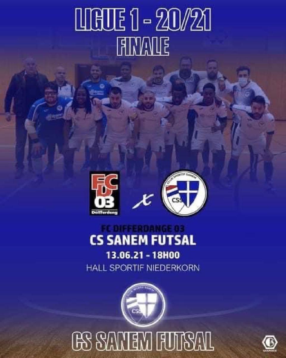 Finale du Championnat Futsal 2020-2021