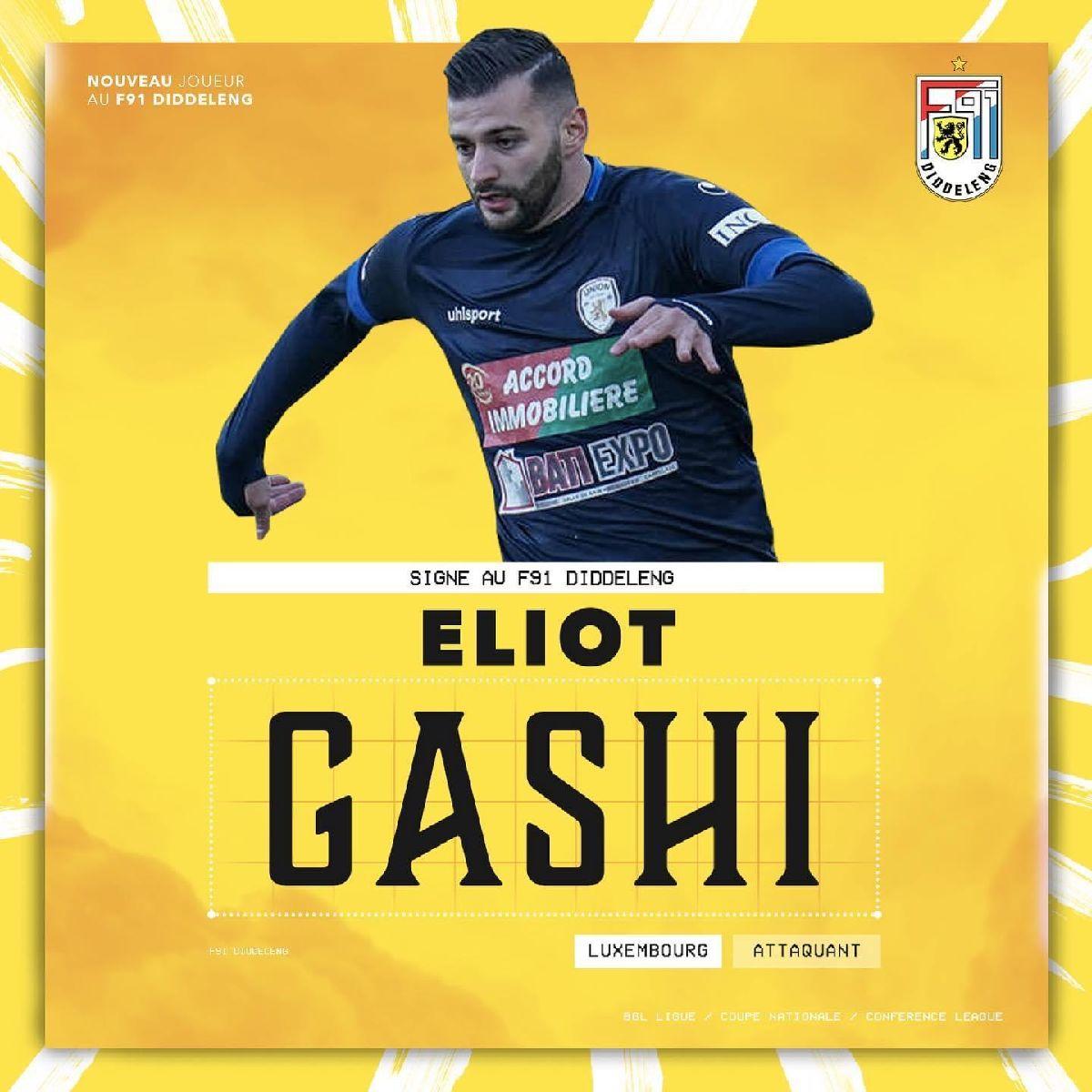 Bienvenue Eliot Gashi