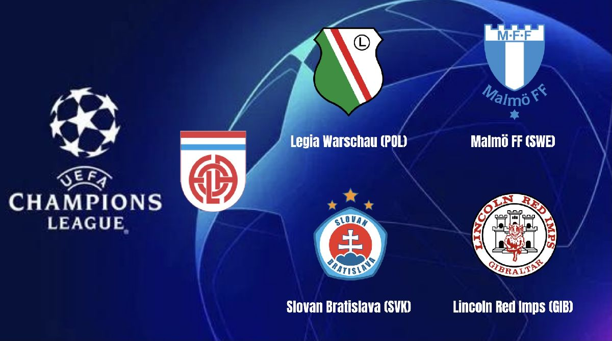 Champions League first qualifying round
