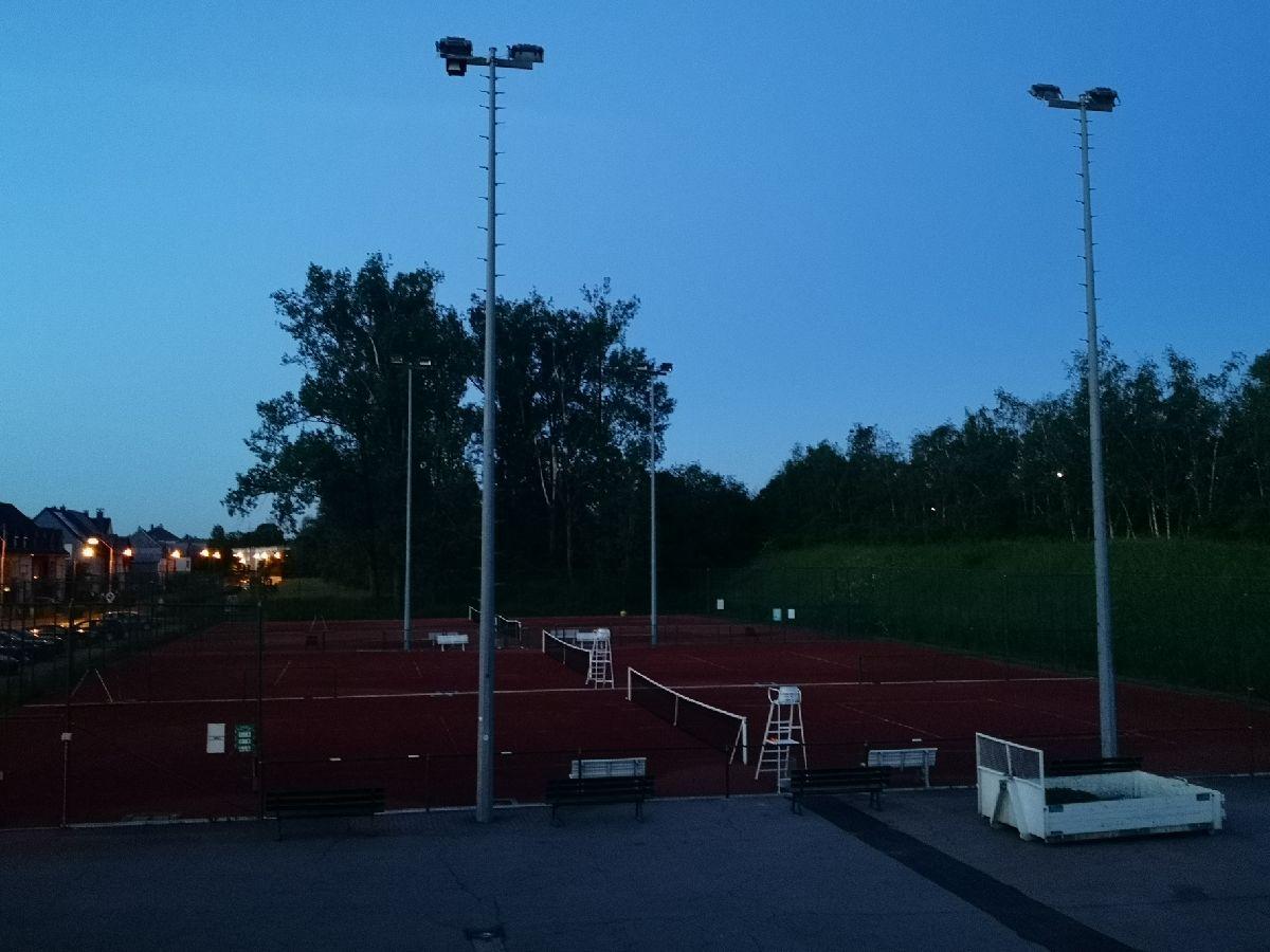 Tennis by night