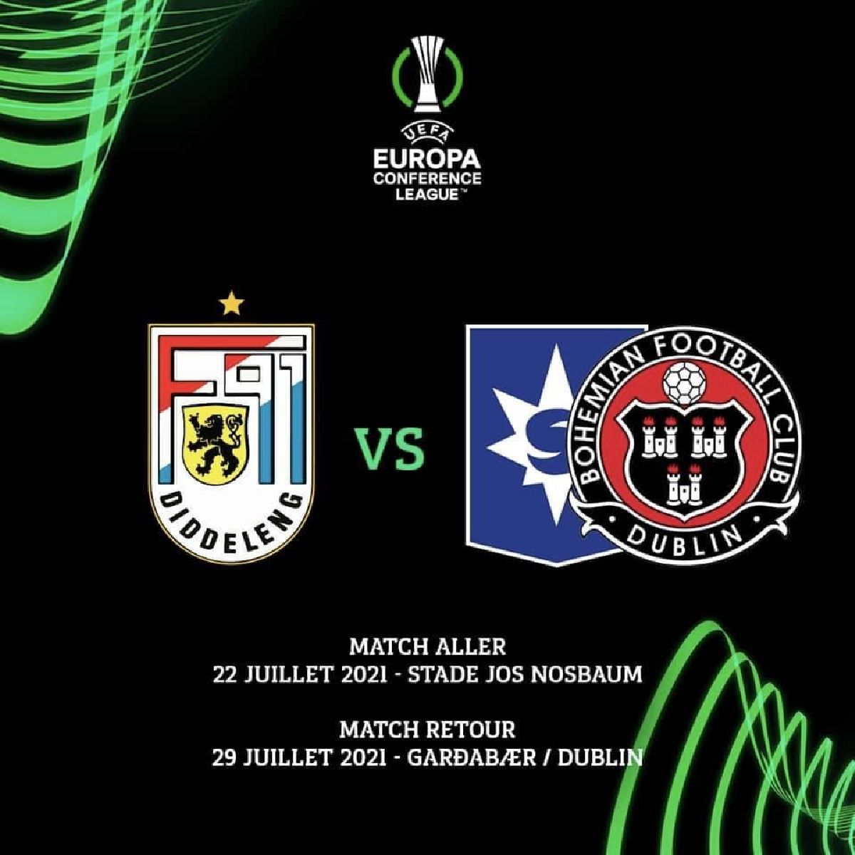 UEFA Europa Conference League - Tirage 2. Tour