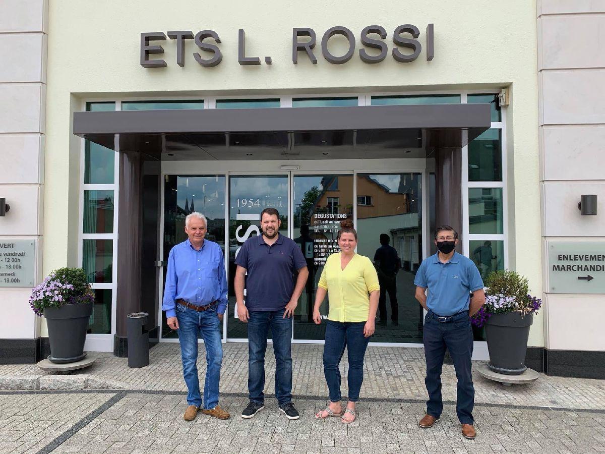 Les établissements ROSSI - Vins & Spiritueux deviennent co-sponsors du F91 Diddeleng !