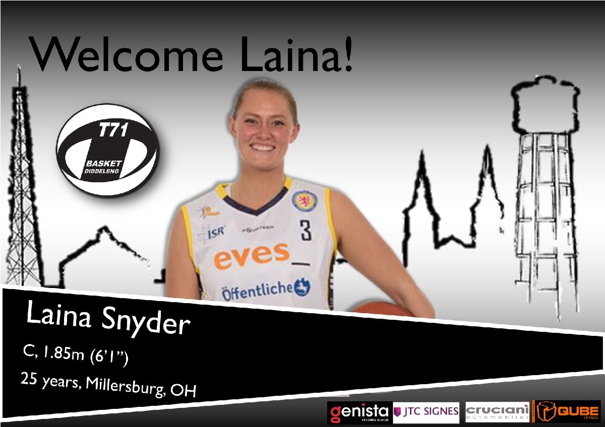 Welcome Laina