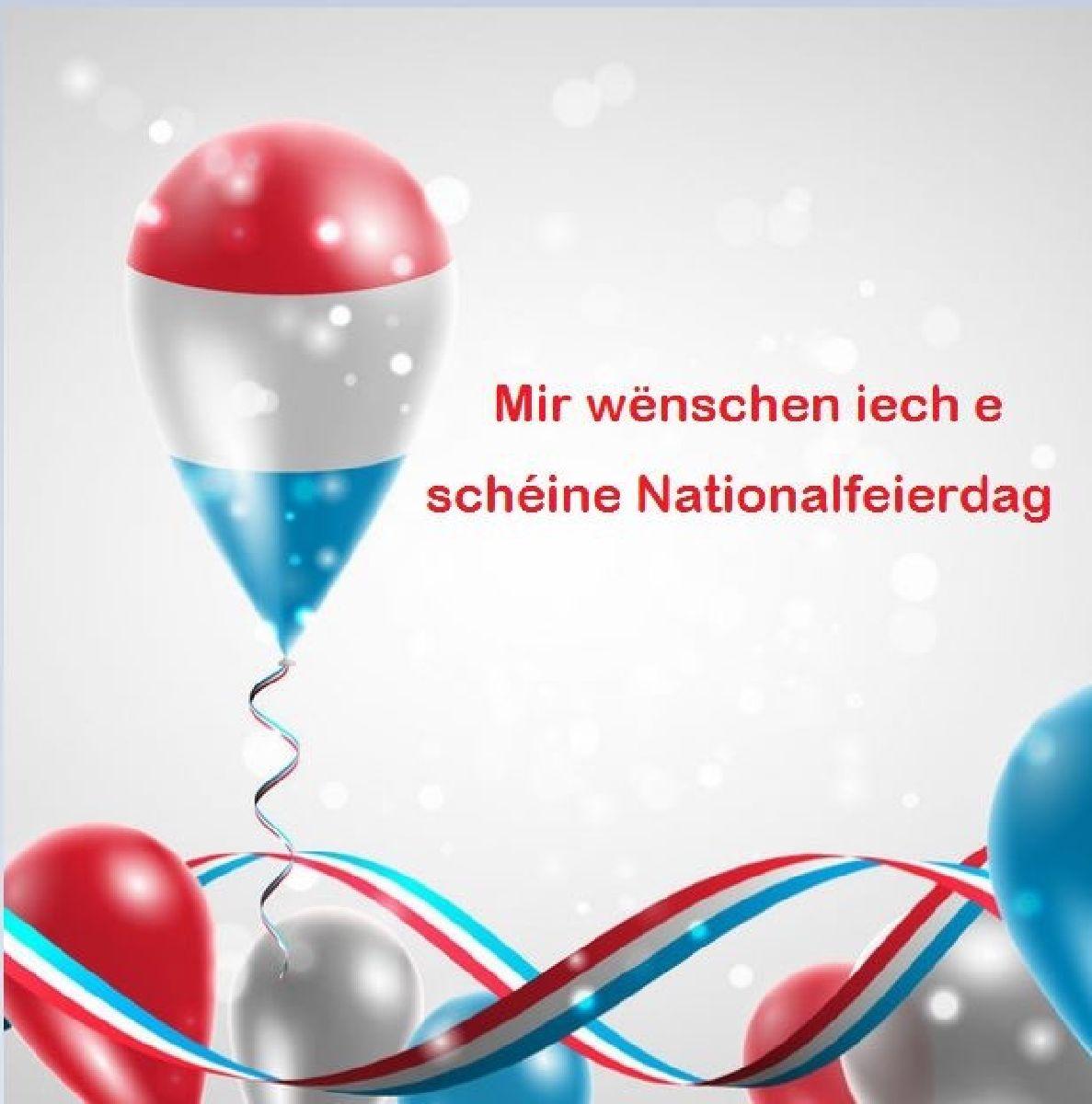 Den CS Sanem wënscht e schéine Nationalfeierdag