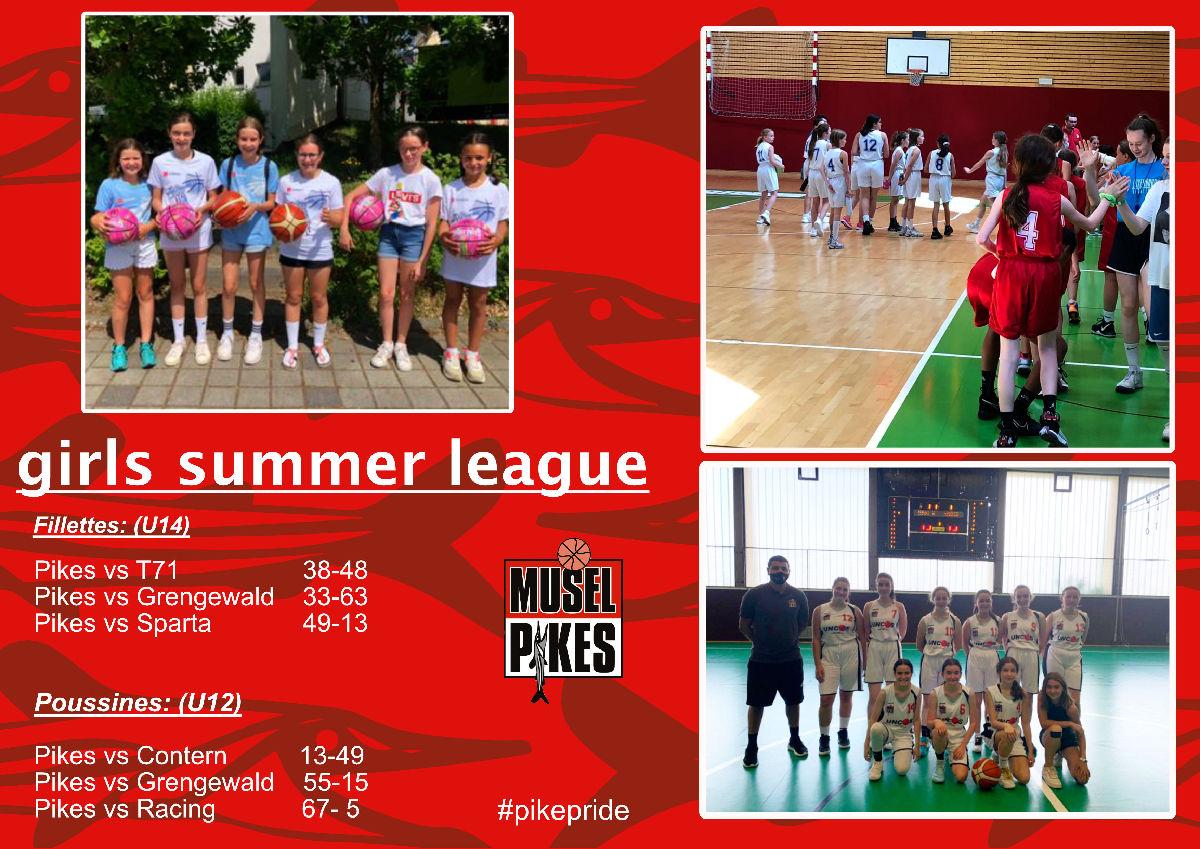girls summer league