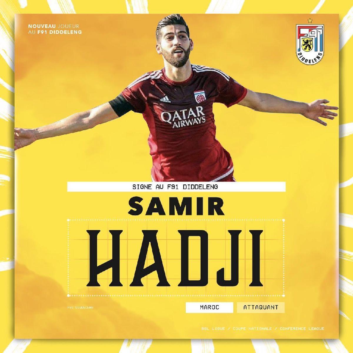 Samir Hadji est dudelangeois