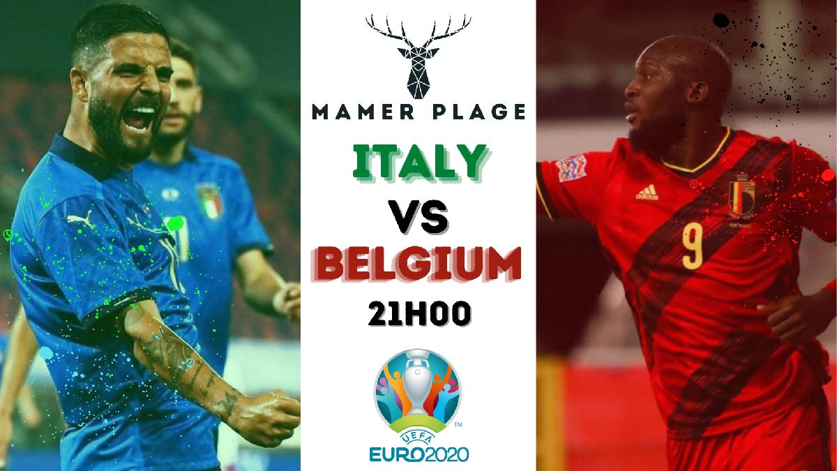 Public Viewing : Belgique vs Italie à Mamer Plage