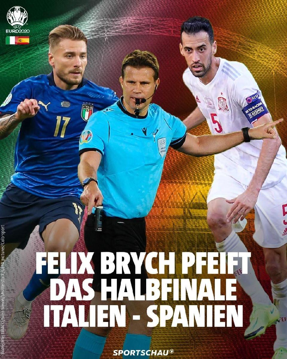 Italien-Spuenien 1/2 Final e Dënschdeg an der Buvette