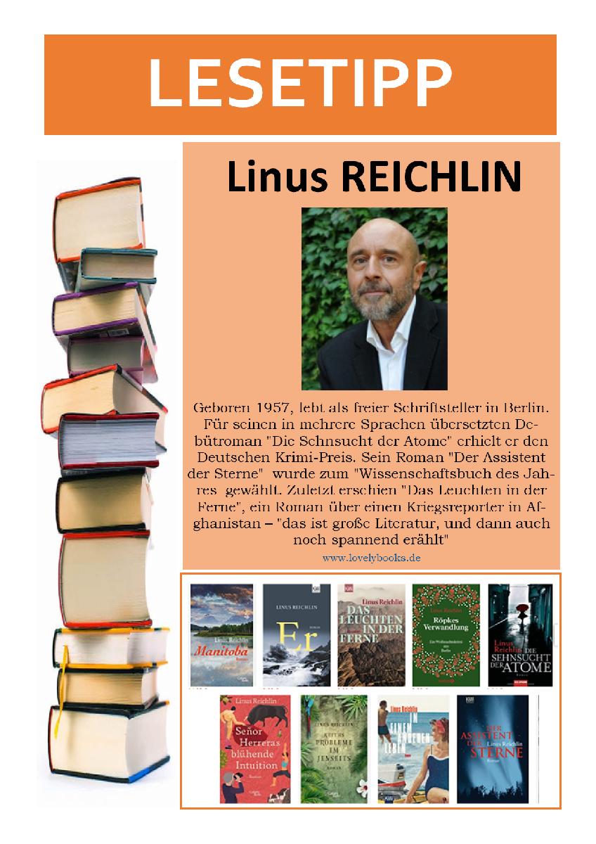 Lesetipp 21-07-05 Linus Reichlin