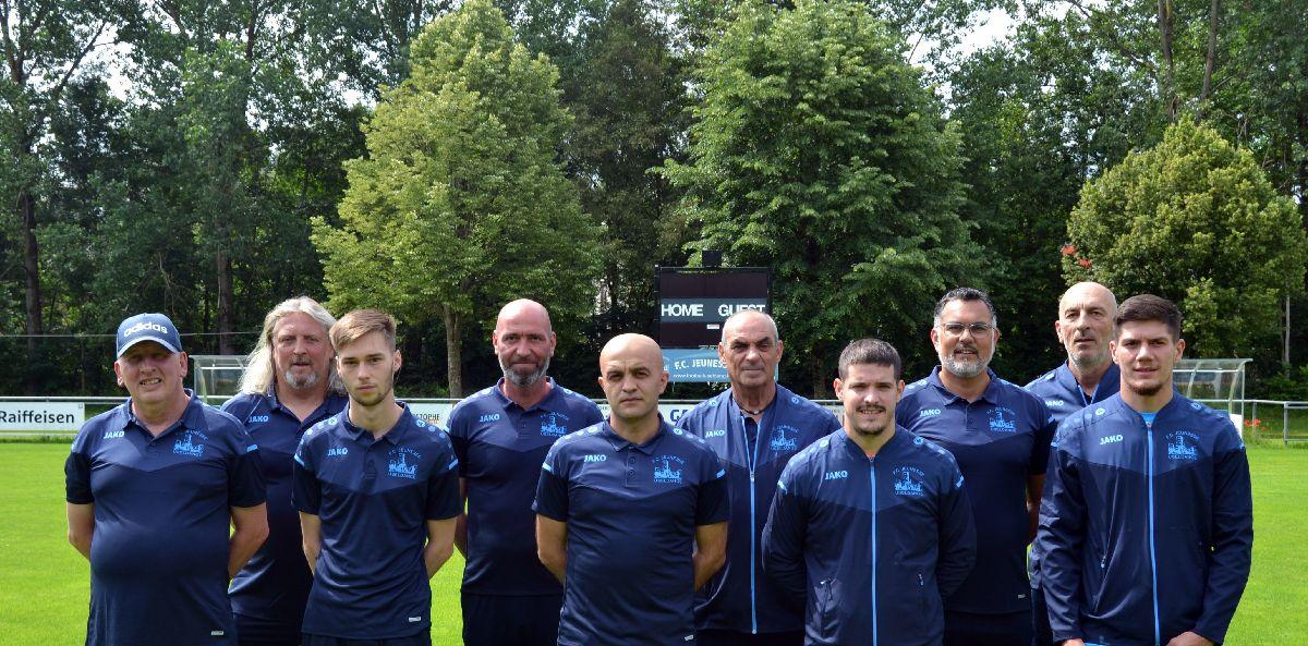 Saison 2021-2022: Trainerstaff vum FCJU