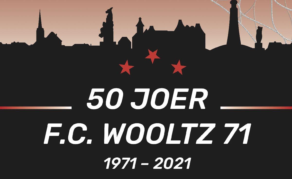 50 Joer F.C. Wooltz 71 - EEN FLOTT BUCH VUM EMILE LUTGEN