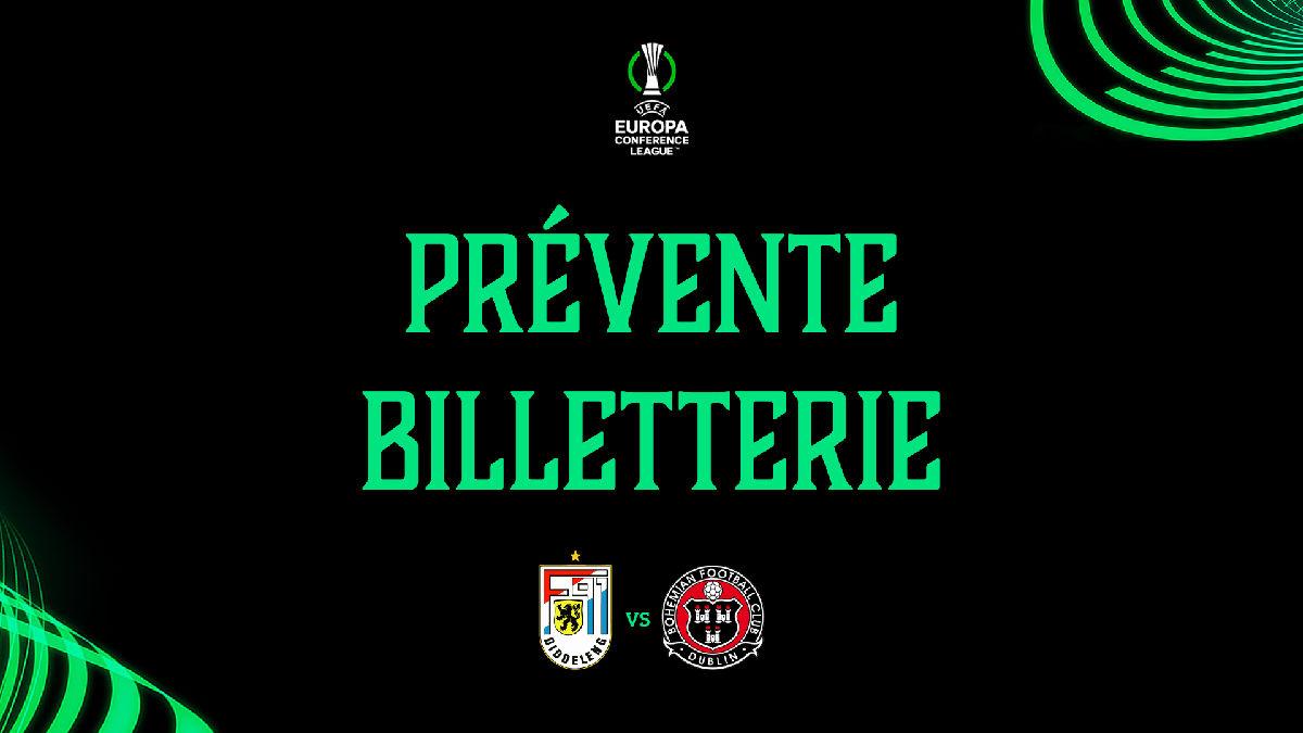 Prévente F91 Diddeleng - Bohemian FC