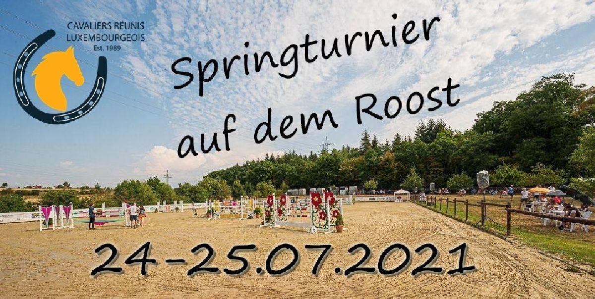 Zeiteinteilung Springturnier Roost 24-25.07.2021