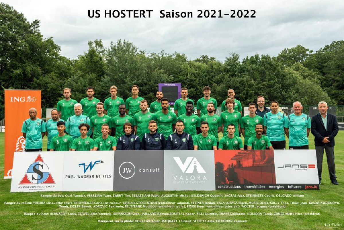 Photo officielle US HOSTERT 2021-22