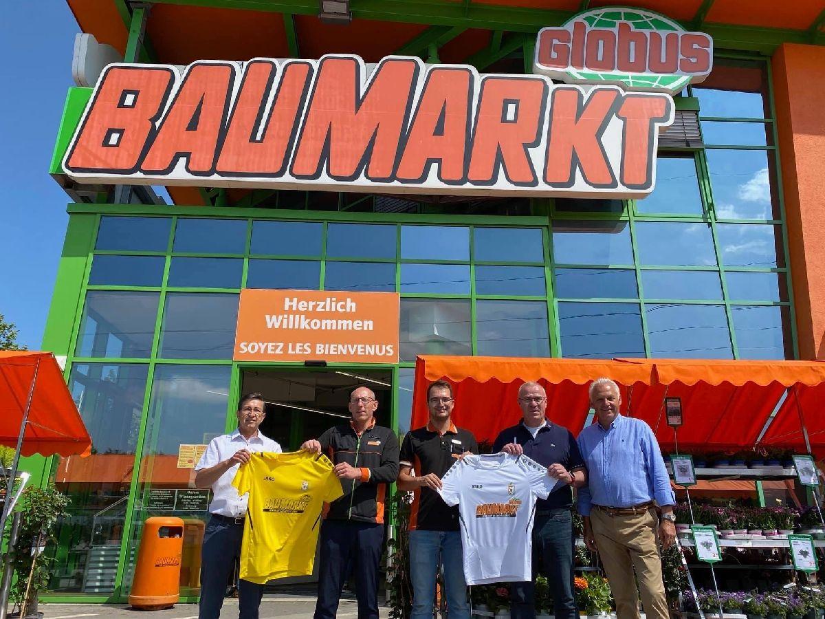Globus Baumarkt est notre nouveau sponsor !