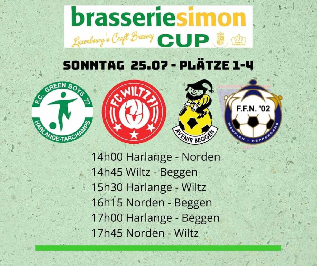 Brasserie Simon Cup zu Woltz