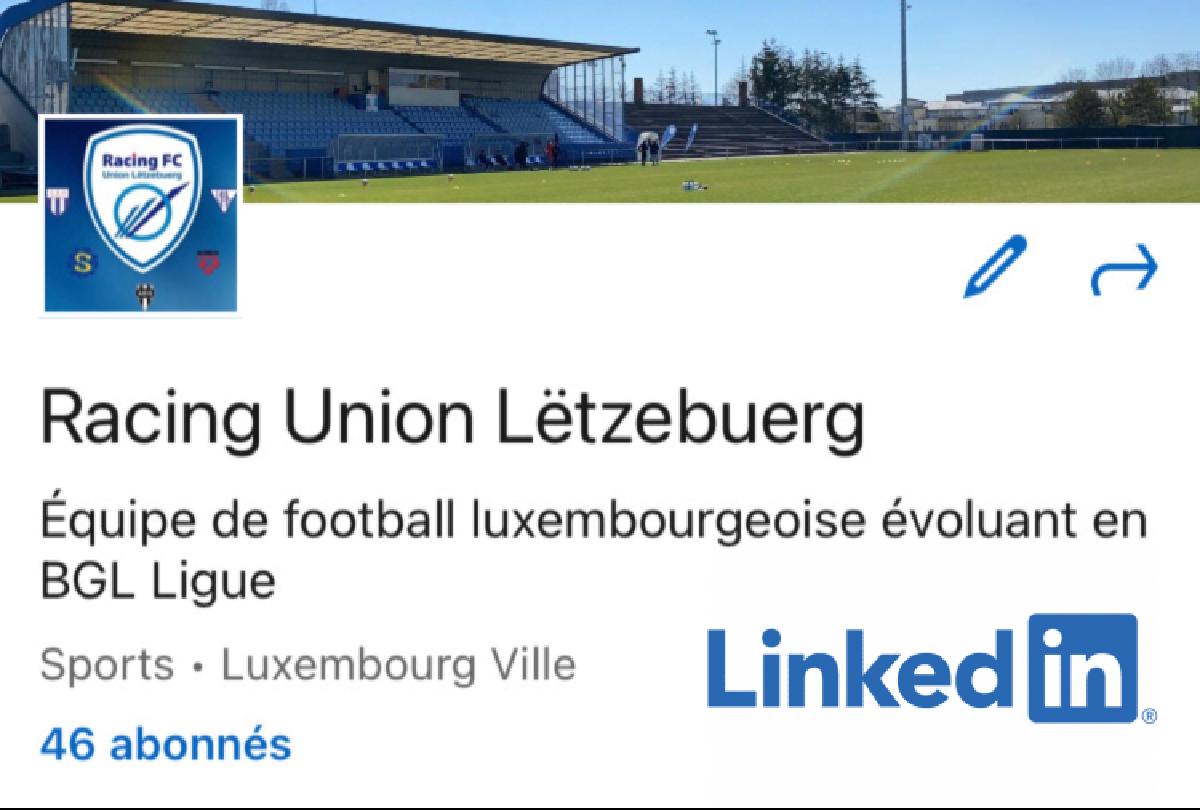Social Media : Le Racing FC s'invite sur LinkedIn