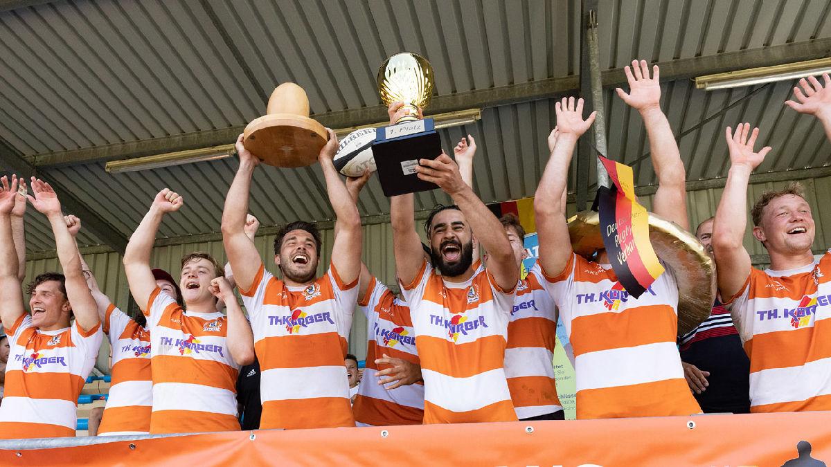 Sechster 7er-DM-Titel in Serie für RG Heidelberg