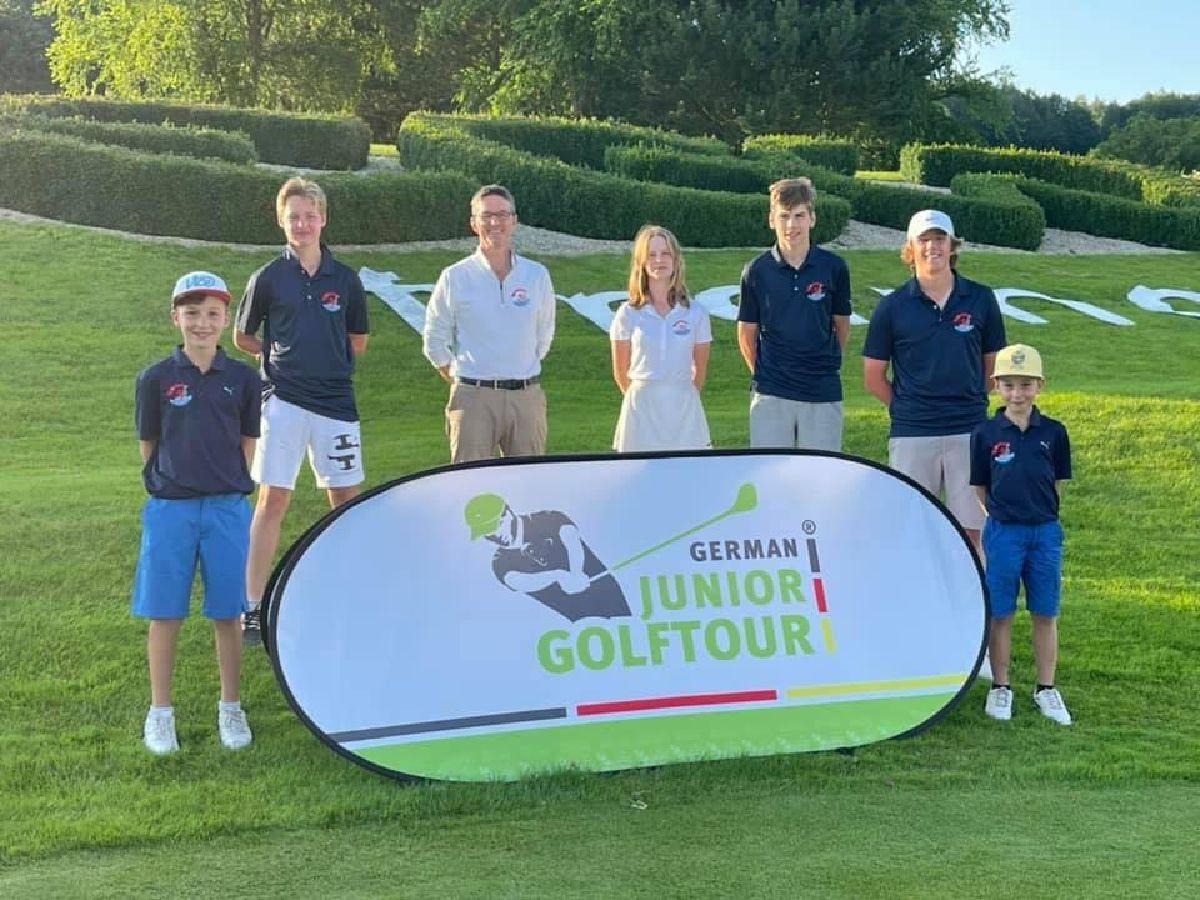 Luxemburger Jugendkader des Golfverbandes verstärkt auf Reisen