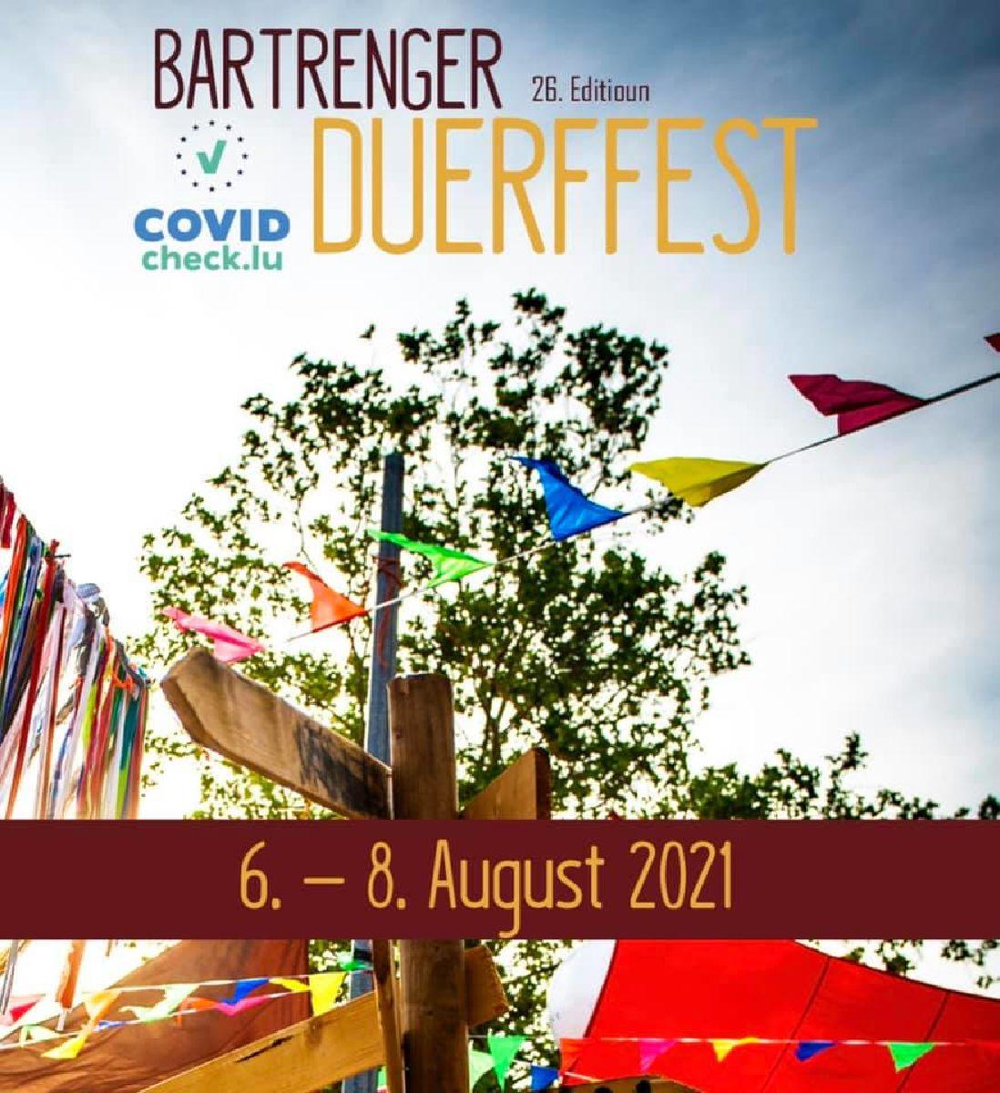 Bartrenger Duerffest 2021 mam DT Frënn Bartreng!