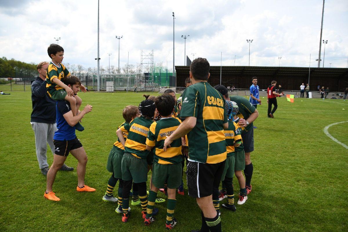Reprise de l'activité de l'école de rugby le 04/09/2021