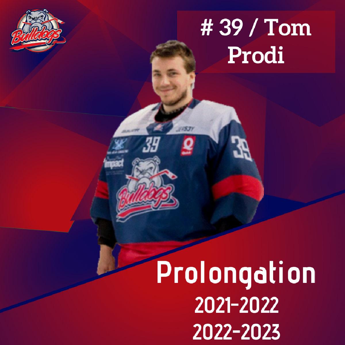 Prolongation pour Tom Prodi jusqu'en 2023