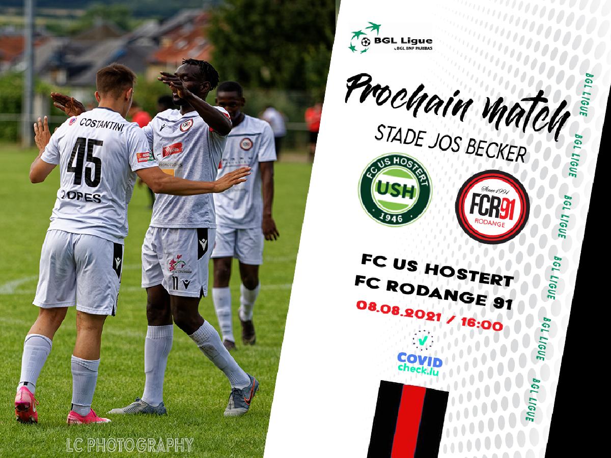 FC US Hostert - FC Rodange 91