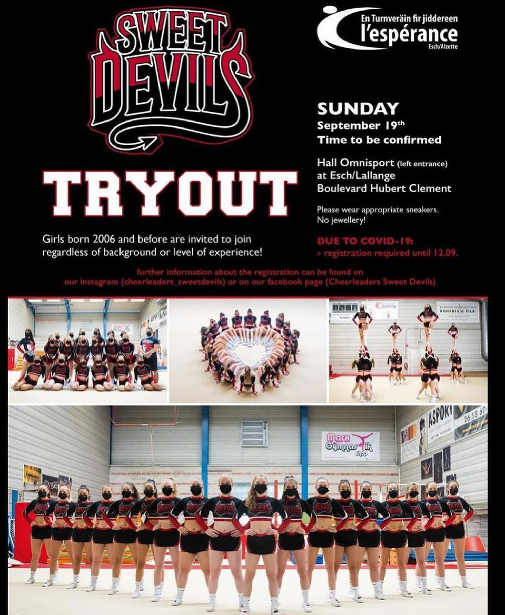 Sweet Devils Tryout 2021