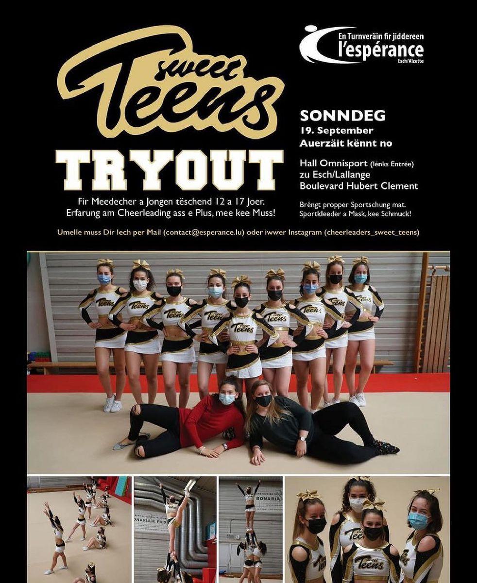 Sweet Teens Tryout 2021