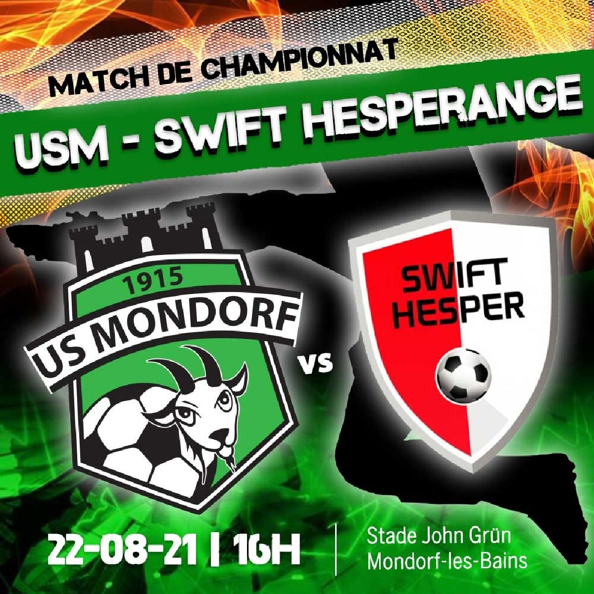 US Mondorf - Swift Hesperange
