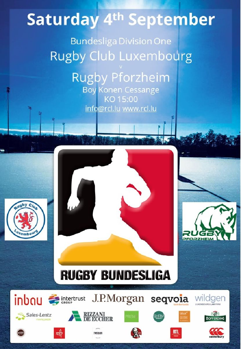 Bundesliga Rugby is back in Luxembourg