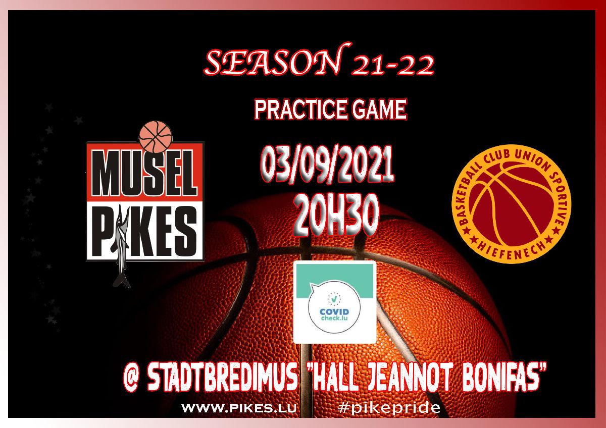 first men practice game 03.09.2021