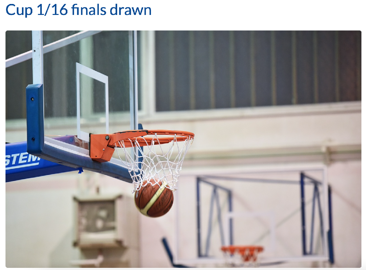 Pikes men will face Schieren (+20) in the cup 1/16 finals (October 13th or 14th )
