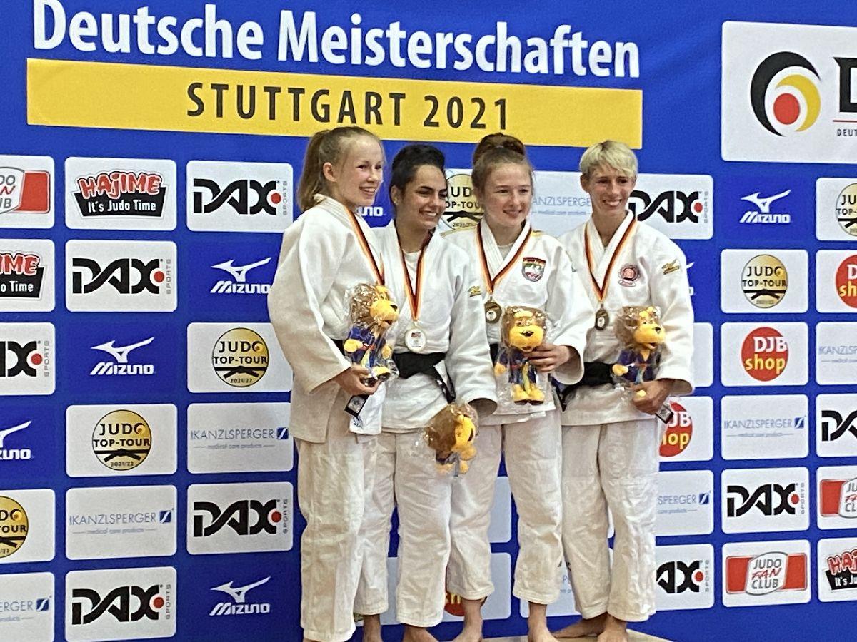 Jessica Lindner Dritte bei Deutscher Judo-Meisterschaft in Stuttgart
