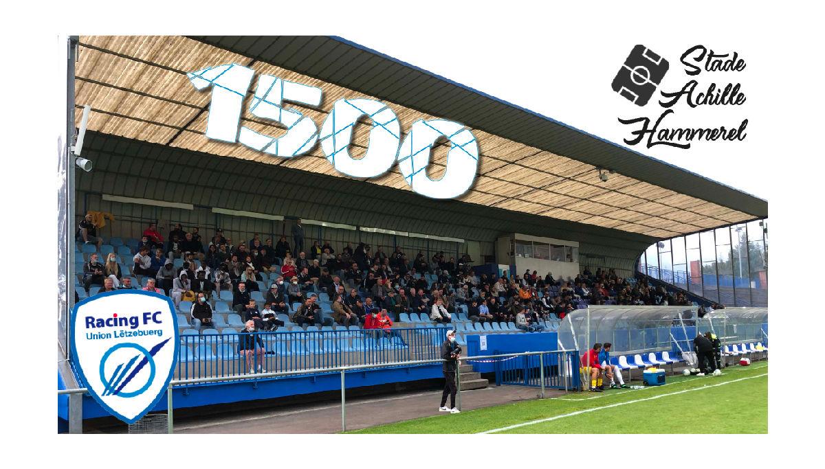 1500 spectateurs autorisés ce dimanche contre Dudelange