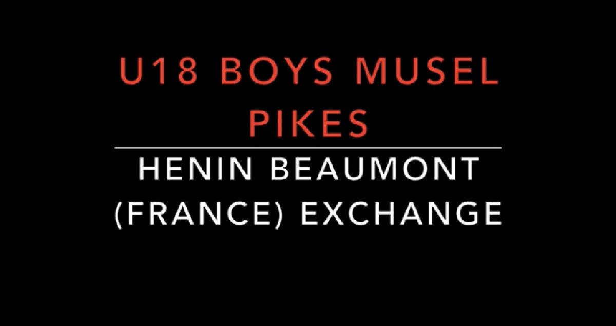 U18 Boys in Henin Beaumont