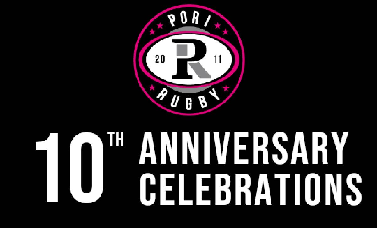 Pori Rugby 10 vuotta!