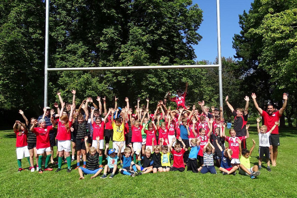 Erstes gemeinsames Training der Rugby Jugend RLP