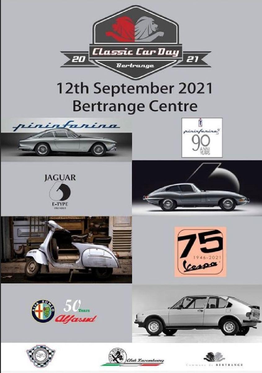 CLASSIC CAR DAY Bertrange Centre