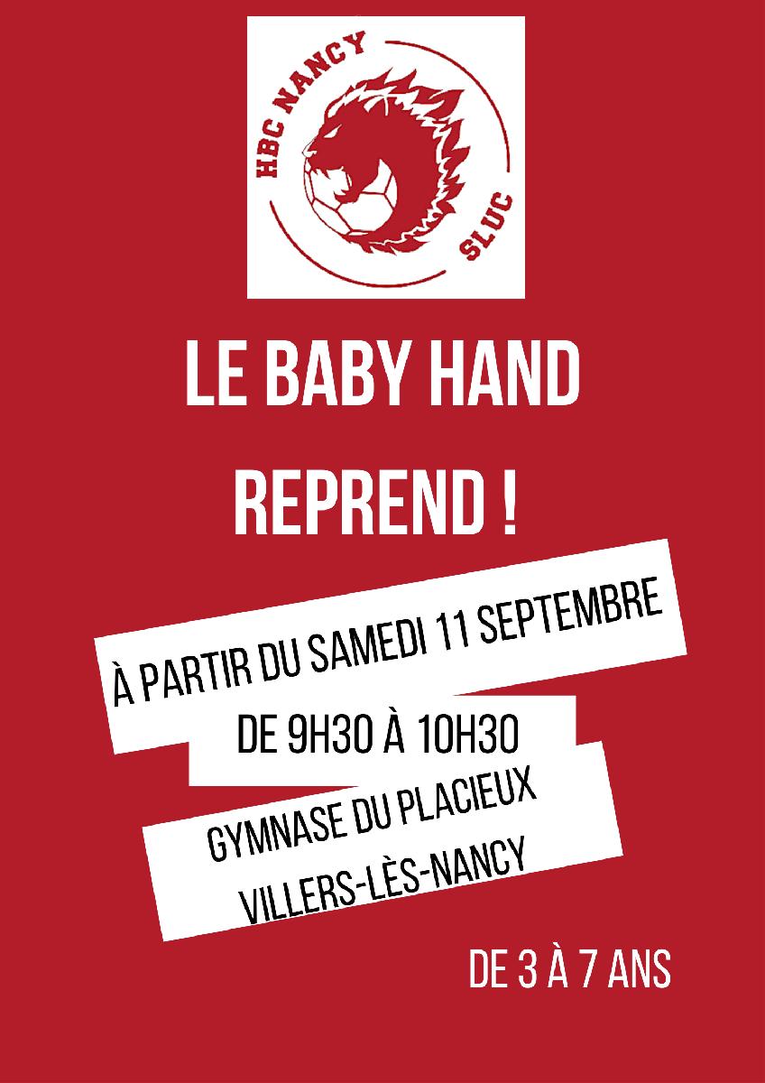 Le baby hand reprend !