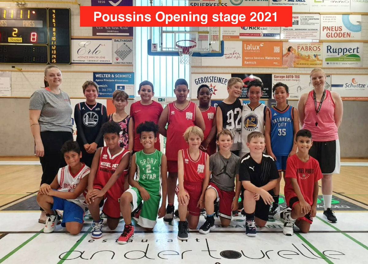Pikes Poussins opening stage 2021