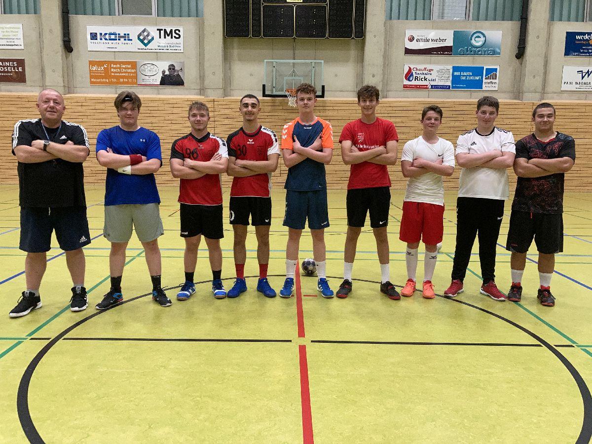 Eis U21 Hären, mat hirem neien Trainer: Gregor PIETRASIK