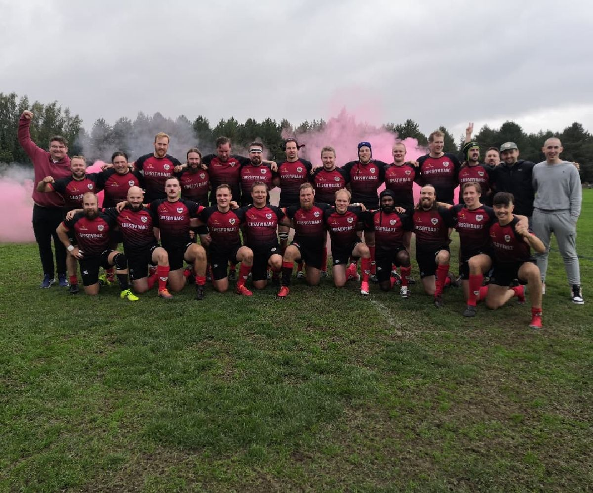 Tampere Rugby Club on II-divisioonan sarjavoittaja