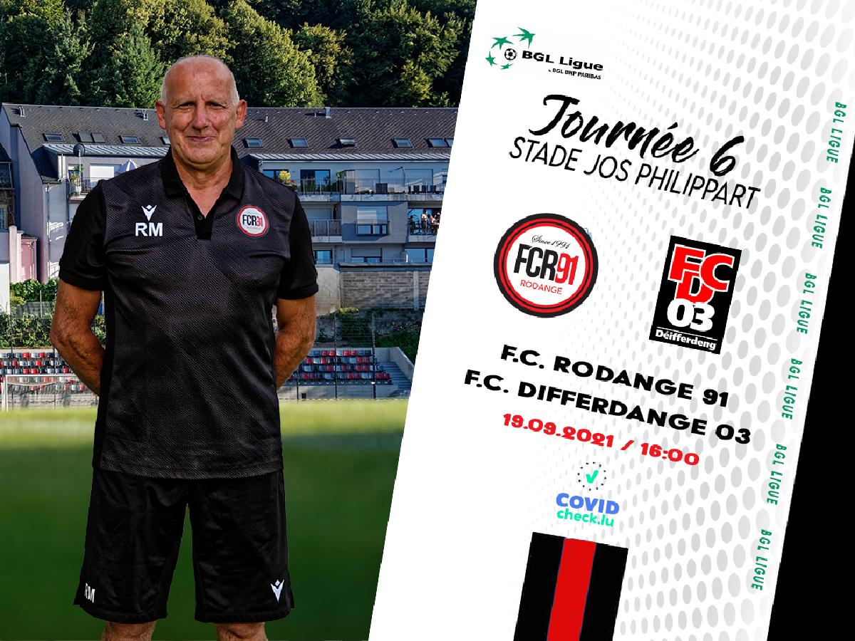 F.C. Rodange 91 - F.C. Differdange 03