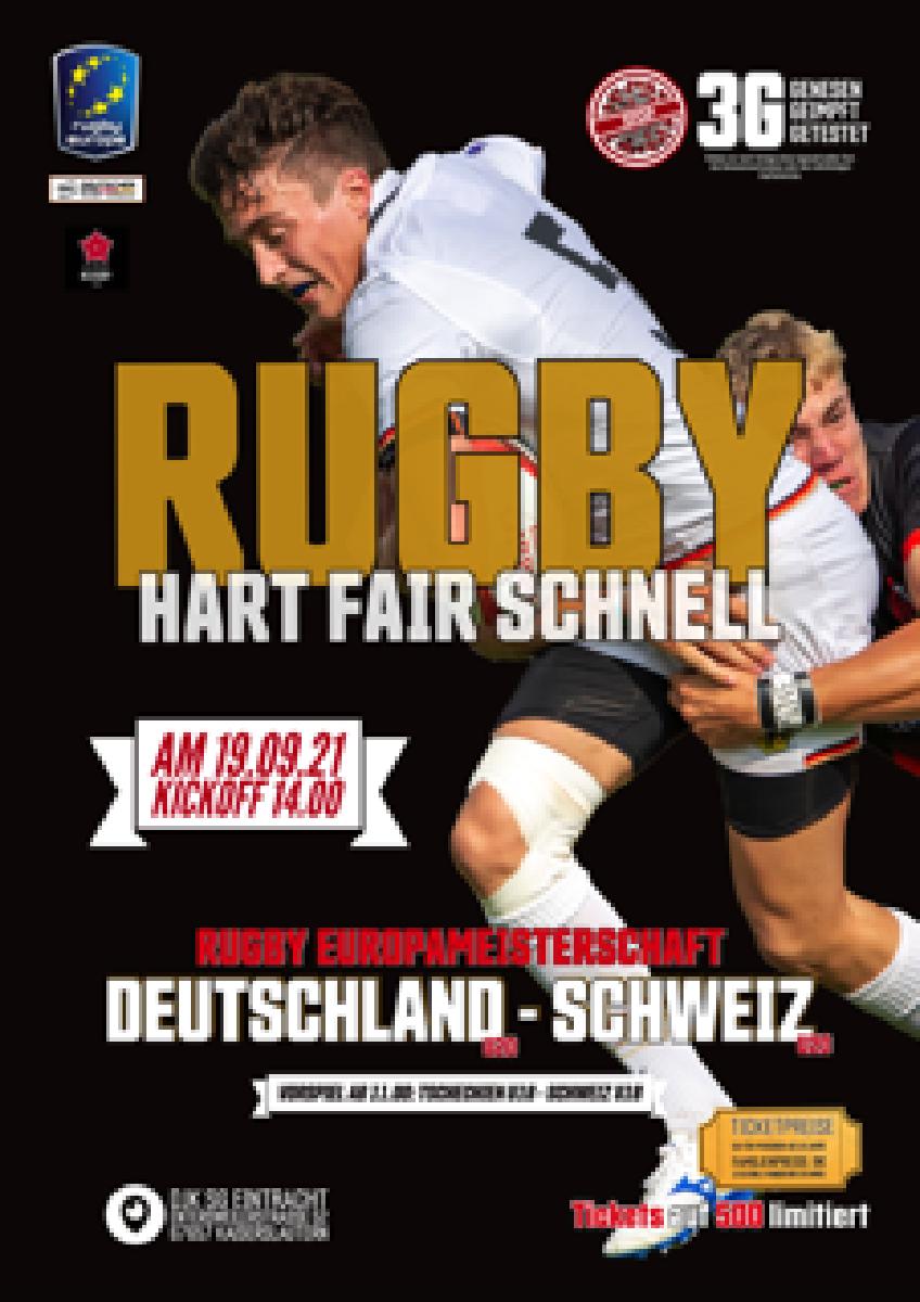Reminder: Länderspiel Deutschland - Schweiz am 19.9.21 in Kaiserslautern