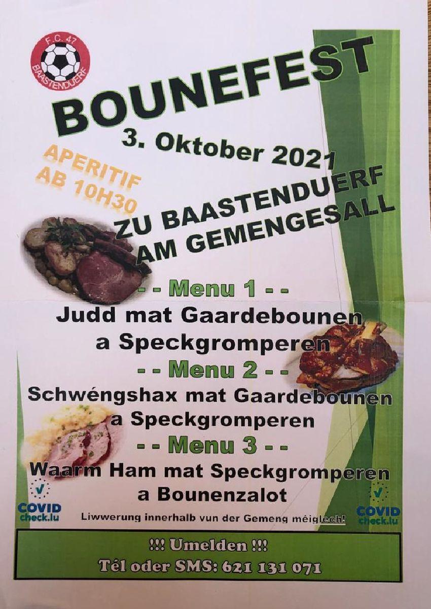Bounefest zu Baastenduerf!