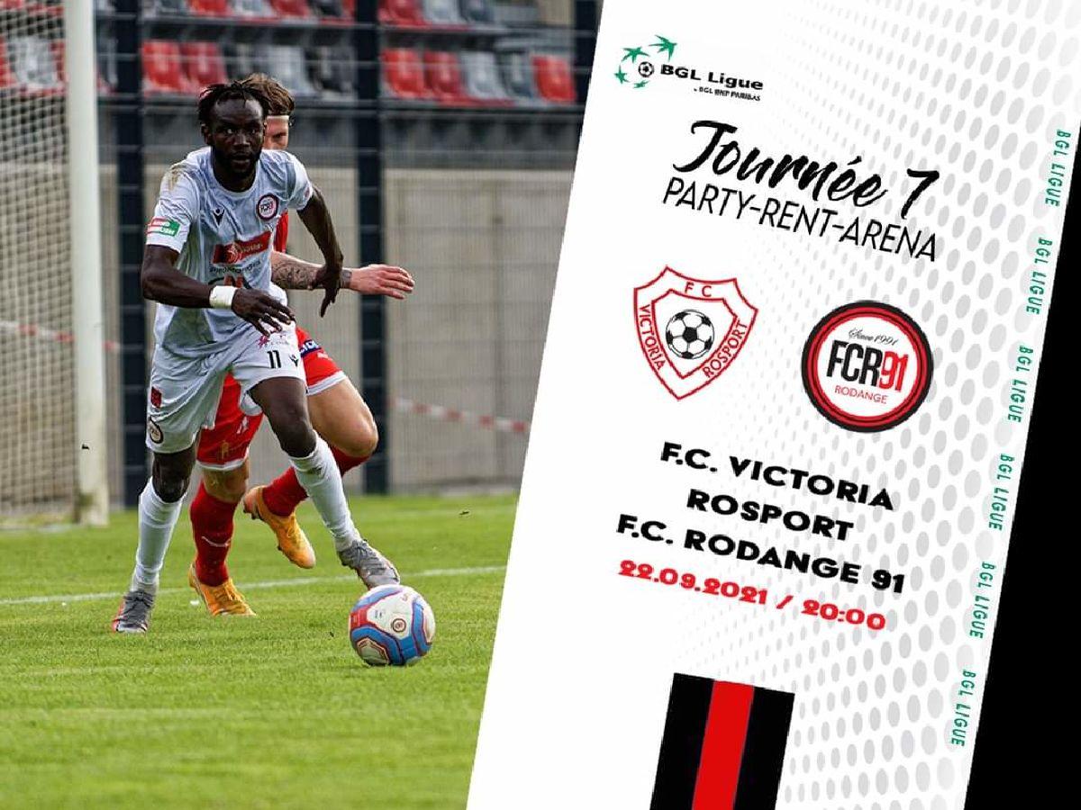 F.C. Victoria Rosport - F.C. Rodange 91